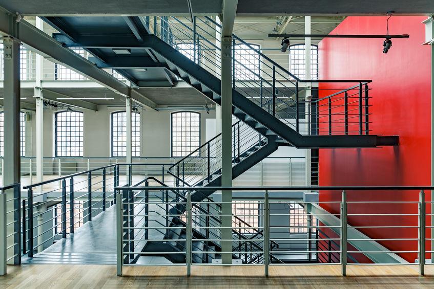 Treppen aus Stahl, Stahltreppen